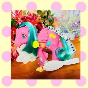 ❤️My Little Pony MLP G1 Vtg 1984 Sunshine WAVE RUNNER Pegasus Seahorse Bubbles❤️
