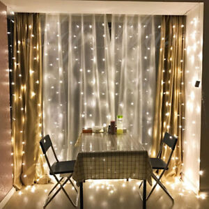3x3M-Led-String-Fairy-Lights-Wedding-Party-Curtain-Indoor-Outdoor-Garden-Wedding