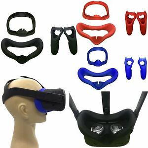 For-Oculus-Quest-Virtual-Reality-Controller-Case-Eye-Mask-Face-Cover-Sweat-proof