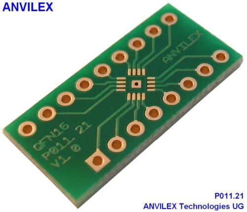 adaptador p011.21 3mm x 3mm 5 x qfn16