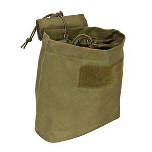 NEW-NcSTAR-TAN-Airsoft-Modular-Gun-Rifle-Magazine-Dump-Pouch-Bag-Fold-Roll-Up