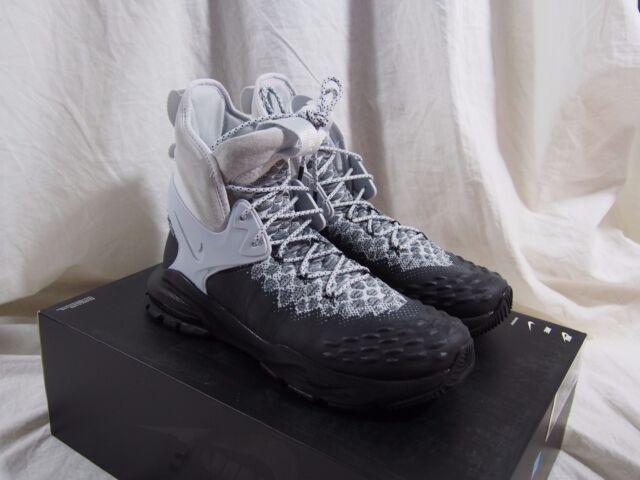 c50e2663df76 Nike Zoom Tallac Flyknit ACG Black NikeLab Leather Boot Sz 8.5 ...