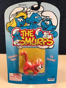 Smurfs 20411 Smurf Azrael The Cat Gargamel S Pet Vintage Figure Pvc
