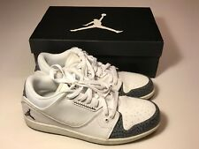 8501b7c84fe46d item 6 Nike Air Jordan 1 Flight 2 Low (654465-103) White Athletic Shoes Men  11.5 w Box -Nike Air Jordan 1 Flight 2 Low (654465-103) White Athletic Shoes  Men ...