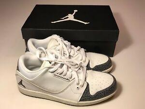 Details about Nike Air Jordan 1 Flight 2 Low (654465-103) White Athletic Shoes Men 11.5 w Box