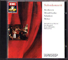 Melvyn TAN: SALONKONZERT Beethoven Mendelssohn Schubert Weber CD Horn Sonata EMI