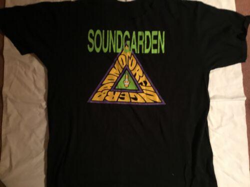 SOUNDGARDEN Vintage T Shirt CONCERT 1991 TOUR Seat
