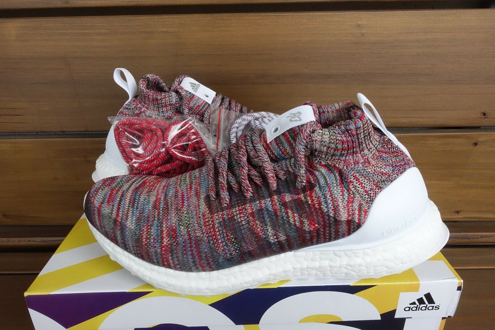 4.5, 6 Kith x adidas UltraBOOST Mid AABY2592 BY2592 Consortium Aspen Ronnie Fieg