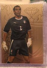 2011 Futera Unique Football Soccer #1 Gigi Buffon Italy Gold 276/295 Unused Code
