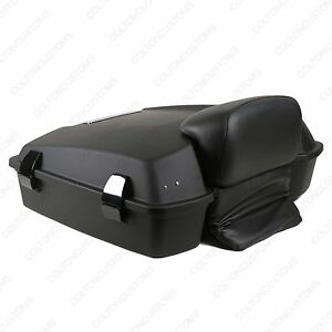 VIVID BLACK COVERS RTP RAZOR MOTORCYCLE TOUR PACK LUGGAGE FOR HARLEY DAVIDSON