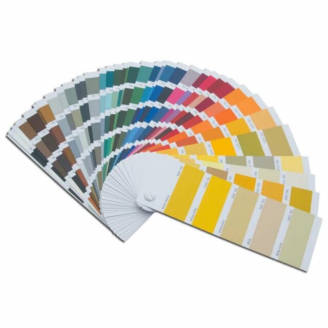 Original Ral K7 Color Fan Deck Swatches Classic 213 Colour Tones Newest Version