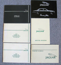 Lot 82-84 Jaguar XJ6 Series III 3 Maintenance Handbooks Passport Service More
