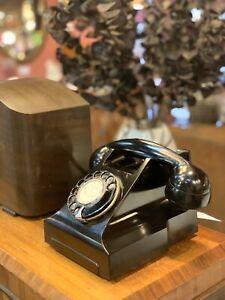 1950s-Black-Bakelite-Rotary-Phone