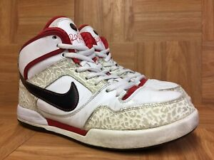 RARE-Nike-Paul-Rodriguez-2-Zoom-Air-High-325022-161-Sz-9-5-Cement-Varsity-Red
