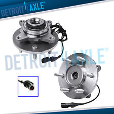 2 Front Wheel Bearing Hub Assy 4x4 For Ford F 150 Expedition Lincoln Mark Lt