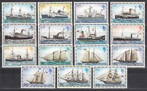 Alerte Falkland Islands Nº 255i -269 I ** Postschiffe-afficher Le Titre D'origine