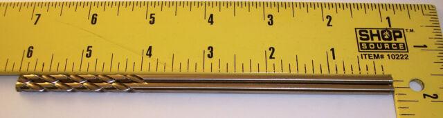 "nEw 6"" ~ USA #21 / .159"" Drill Bits ~ lathe machinist aviation aircraft tool"