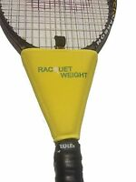 Tennis Racquet Weight Training Aid Yellow on Sale