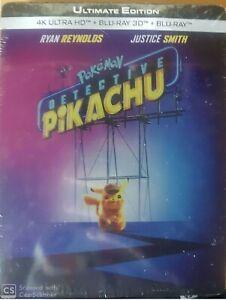 POKEMON-PIKACHU-STEELBOOK-4K-3D-EDITION-FNAC-NEUF-SOUS-CELLOPHANE