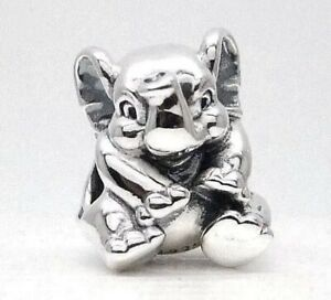 Details about AUTHENTIC PANDORA Lucky Elephant Charm W/ Pandora TAG &  HINGED BOX #791902