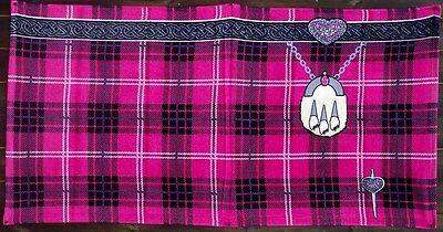 Logisch Instakilt Pink Tartan Erwachsene Kilt Handtuch Badzubehör & -textilien Hand-, Bade- & Saunatücher