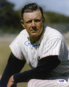 RALPH-HOUK-SIGNED-AUTOGRAPHED-8x10-PHOTO-NEW-YORK-YANKEES-PSA-DNA