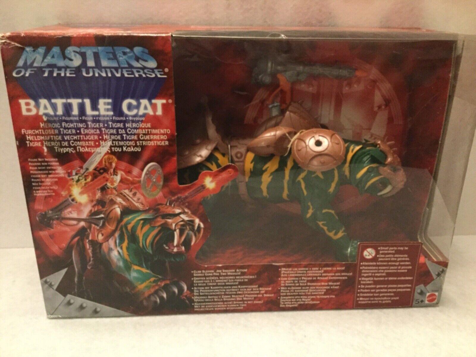 BATTLE CAT. MÁSTERS OF THE UNIVERSE. MATTEL. 2002