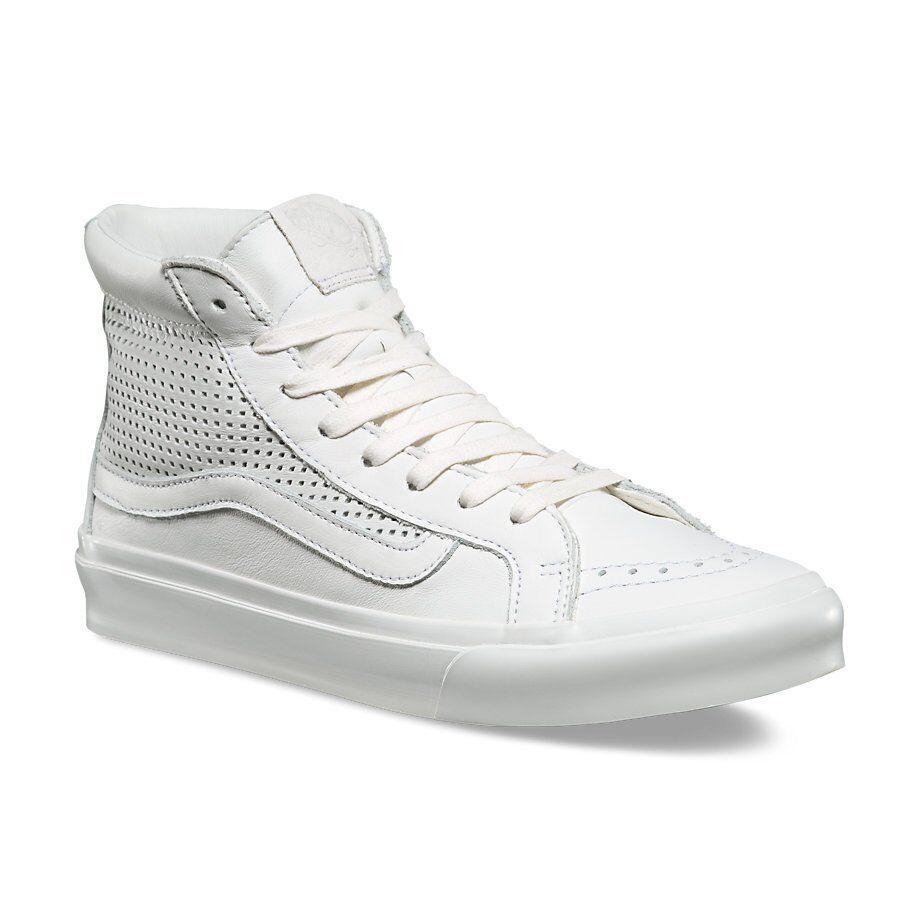 Chaussures Hi Femme Carré Découpe Hommes Vans Sk8 Perf Slim De Blanc hCxdQrtsBo