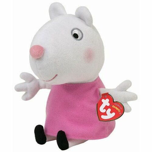 """7/"""" LOTS TO CHOOSE BRAND NEW GEORGE /& FRIENDS SOFT PLUSH TOYS 6/"""" TY PEPPA PIG"""