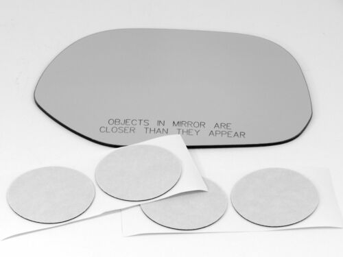 Fits 04-06 Scion xB Right Pass Convex Replacement Mirror Glass Lens w//Adhesive