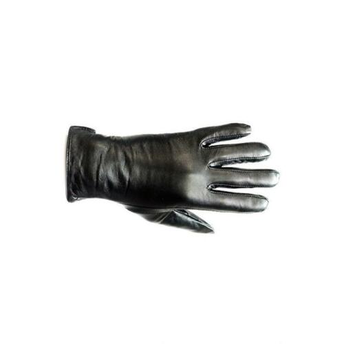 Plus Size Genuine Leather Black Leather Gloves Women Gloves XS