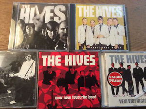 The-Hives-5-CD-Alben-Veni-Vidi-Vicious-Black-White-Your-New-IDIOT-Tyro