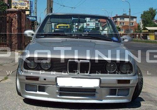 Splitter MT2 per BMW E30 M TECH 2 Paraurti Anteriore Labbro Spoiler Technik Tech M Sport