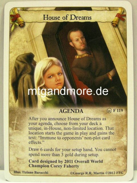 A Game of Thrones LCG - 1x House of Dreams #119 - A Roll of the Dice