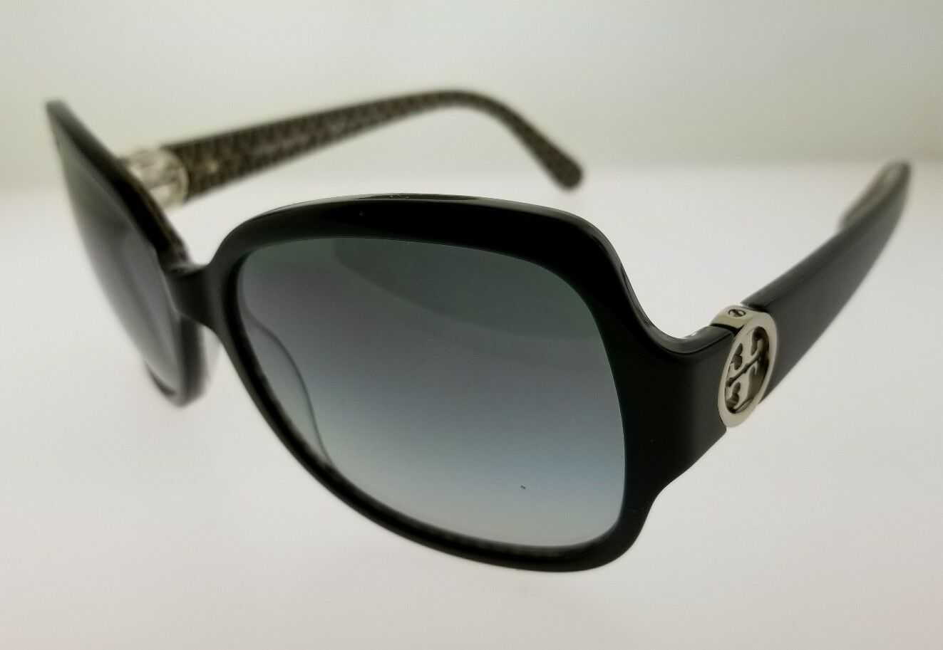 Tory Burch womens Black Sunglasses TY7059 with Case