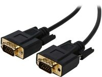 Tripp Lite P512-010 10 Ft. Vga Monitor Cable Hd-15m To Hd-15m Gold Connectors on sale