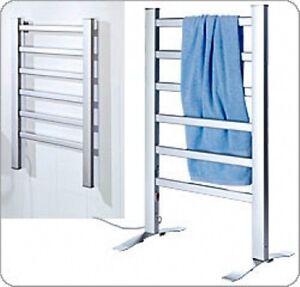 Termosifone porta asciugamani mobile scaldasalviette elettrico x bagno toilette ebay - Bagno elettrico ...