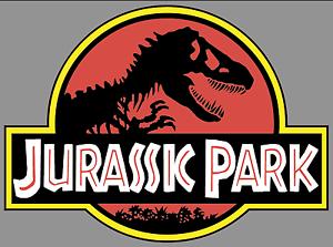 "JURASSIC PARK Logo 9/"" Premium Vinyl Decal Bumper Sticker Jeep Safari Dinosaur"
