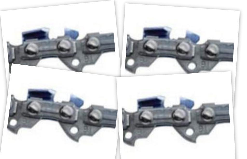 91vxl052g (4) Juego De 4 Oregon Chainsaw cadenas 3 8lp.050