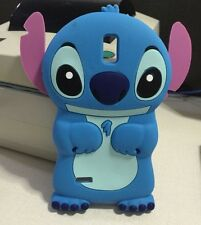 3D Blue Stitch Soft Silicone Back Case For Huawei Ascend G610