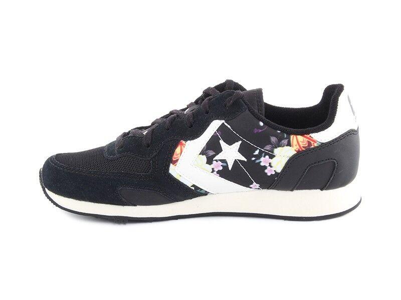 Converse Auckland Racer 148547C Floreale Nera Nera Nera zapatos Nere Con Fiori mujer  Envio gratis en todas las ordenes