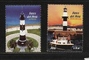 Lighthouse-Stamps-Peru-2009-Sc-1670-71