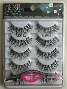 aa784449721 Image is loading 5-PAIRS-Ardell-Lashes-WISPIES-Natural-Multipack-False-