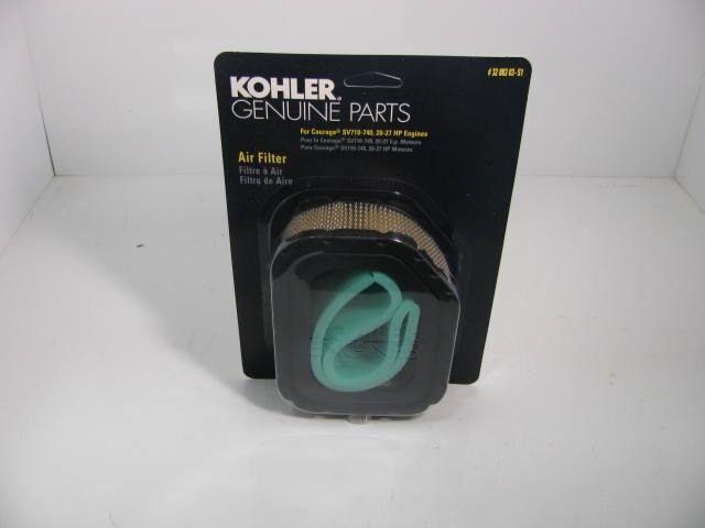 Genuine Kohler OEM D/D KIT AIR FILTER/PRE-CLEANER Part# [KOH][32 883 03-S1]