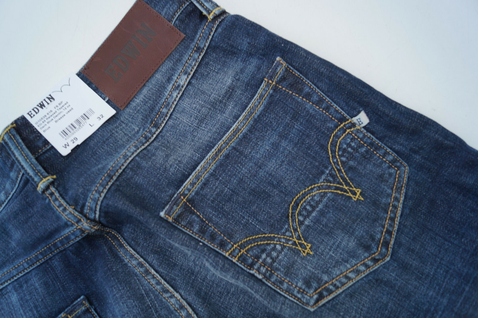 EDWIN relaxed taperot Herren Men Jeans Hose 29 32 W29 L32 darkBlau stonewash NEU  | Outlet Store Online  | Wirtschaft  | Deutschland Online Shop