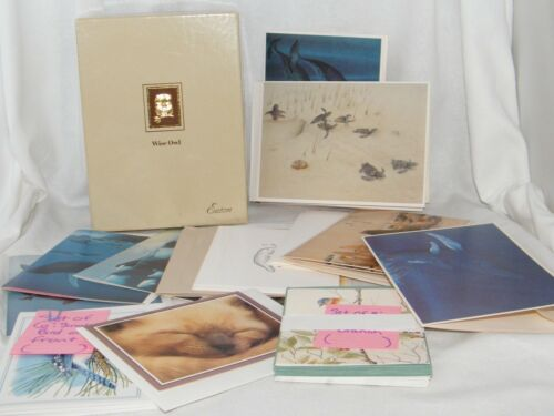 New Multi - Branded Cards . Animals or Mammals w/ Envelope . Your Choice