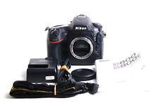 NIKON D800 full frame Camera Body black Japanese version 1400 shutter counts