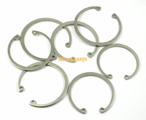 5 Pieces 65mm 304 Stainless Steel Internal Circlip Snap Retaining Ring
