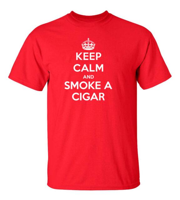 *FREE SHIPPING* SMOKING CIGAR FUNNY T-Shirt Size: S - 5XL