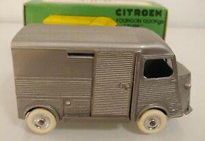 Citroen Type H Hy Jrd 1985 Gris 1/43 Cij Norev Eligor Box 1200k 1200 K J.r.d
